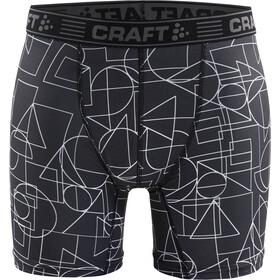 "Craft Greatness 6"" Boxers Men black/asphalt"